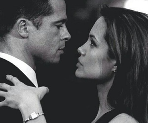 love, Angelina Jolie, and brad pitt image