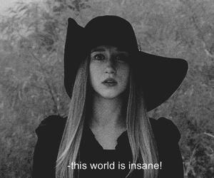black and white, depressive, and grunge image