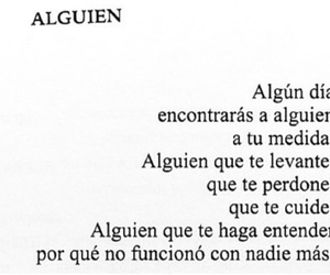 amor, alguien, and frases image