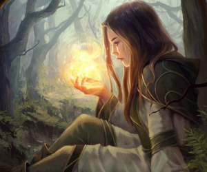 magic, fantasy, and art image