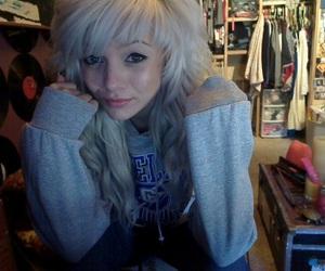 girl, alternative, and hair image