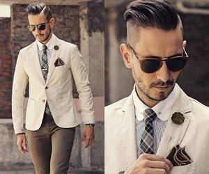 beauty, man, and fashion image