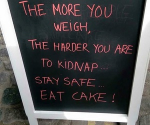 cake, fact, and food image
