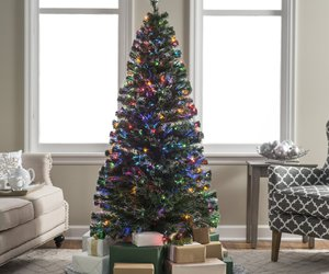christmas, holiday gift, and christmas tree image
