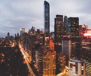 buildings, evening, and luxury image