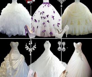 beauty, wedding dress, and ericdress reviews image