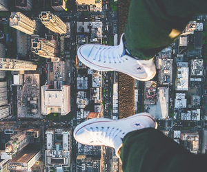city, converse, and travel image