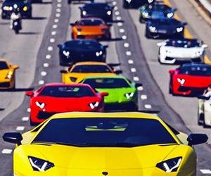 Lamborghini, black, and car image