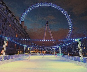 london and ice image