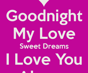 good night, night, and love image