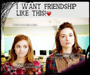 teen wolf and allison.lydia image