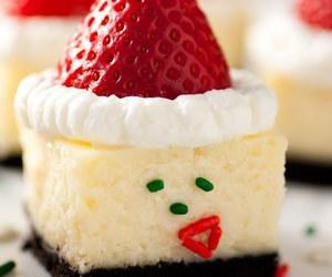 food, cake, and christmas image