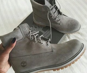 boots and grey image