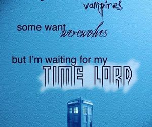 doctor who, time lord, and vampire image