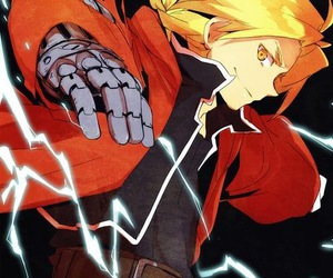 anime, edward elric, and anime boy image