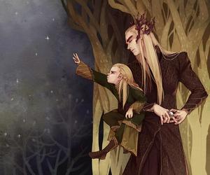 Legolas, thranduil, and the hobbit image