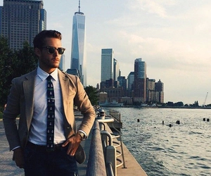 man, classy, and city image