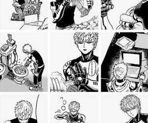 anime, cyborg, and funny image