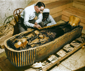 photos, vintage, and howard carter image
