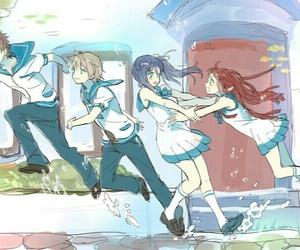 nagi no asukara, anime, and hikari sakishima image