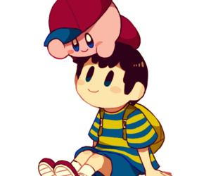 fanart, ness, and earthbound image
