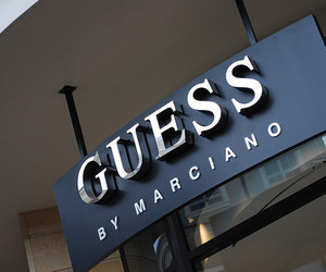 guess, luxury, and store image