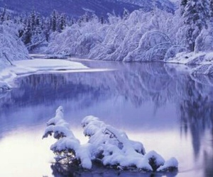 winter, snow, and ice image