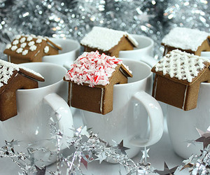 christmas, gingerbread, and house image