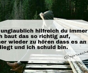 tumblr, spruch, and sprueche image