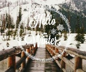 bridge, christmas, and hello image