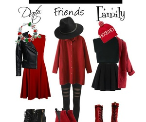 christmas, outfits, and three image