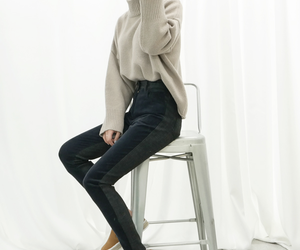 fashion, pure, and korean style image
