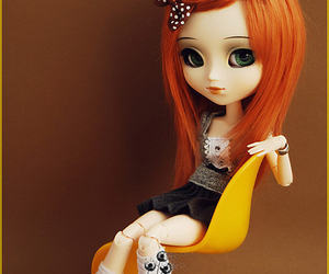 doll, cute, and fashion image