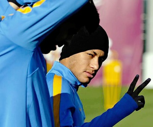 neymar, Barca, and football image