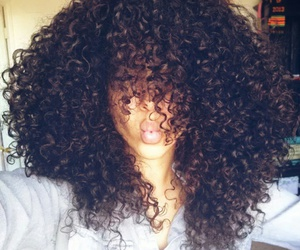 curly hair, curlyhair, and desenho image