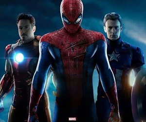 civil war, Marvel, and spiderman image
