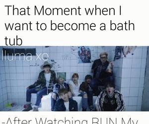 bath tub, run, and v image
