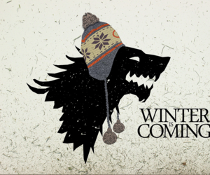 winter, game of thrones, and stark image