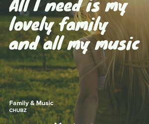 family, cute, and Lyrics image