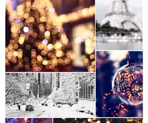 autumn, christmas, and Collage image