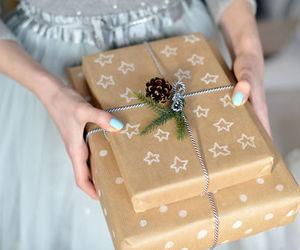 christmas, present, and snow image