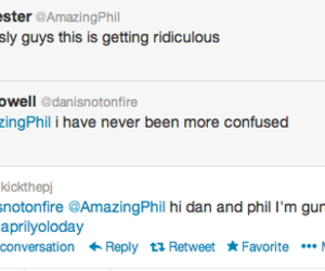 amazing phil, dan and phil, and danisnotonfire image