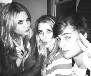 emma roberts, ashley benson, and douglas booth image