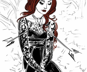 draw, dress, and fan art image