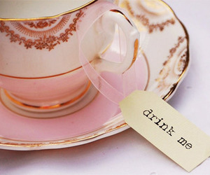 tea, alice in wonderland, and cup image