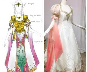 zelda, firefly path, and zelda dress image