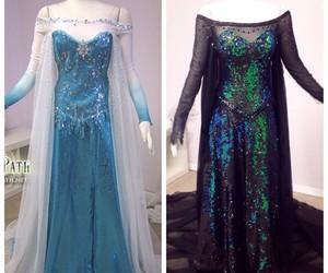 firefly path, elsa dress, and dark elsa dress image