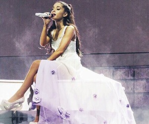 pretty, purple, and ariana image