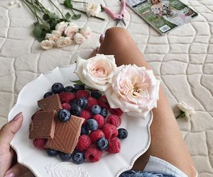 food and rose image