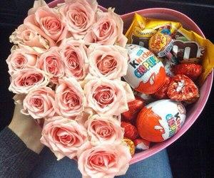 rose, flowers, and kinder image